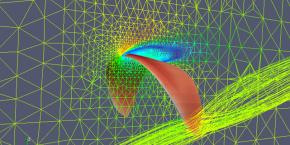 Berechnung: Vernetztes 3D-Modell